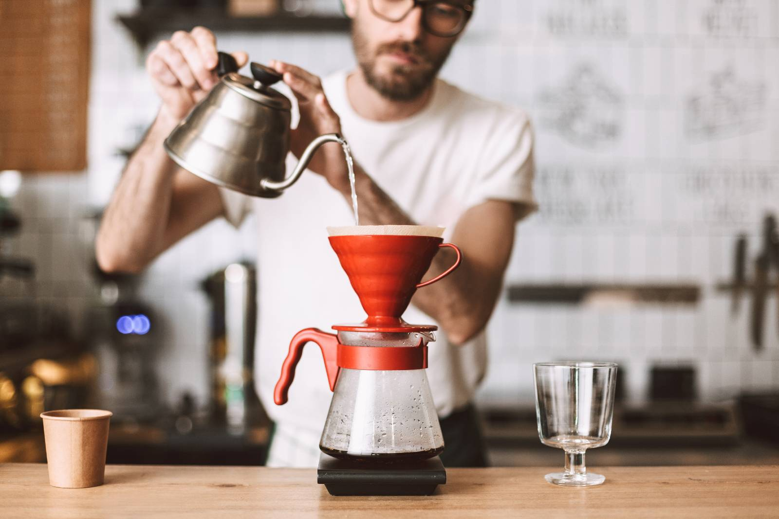 5 Ways To Make Coffee At Home - Pour over coffee
