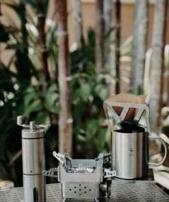 Camper's Pour Over Coffee Drip station