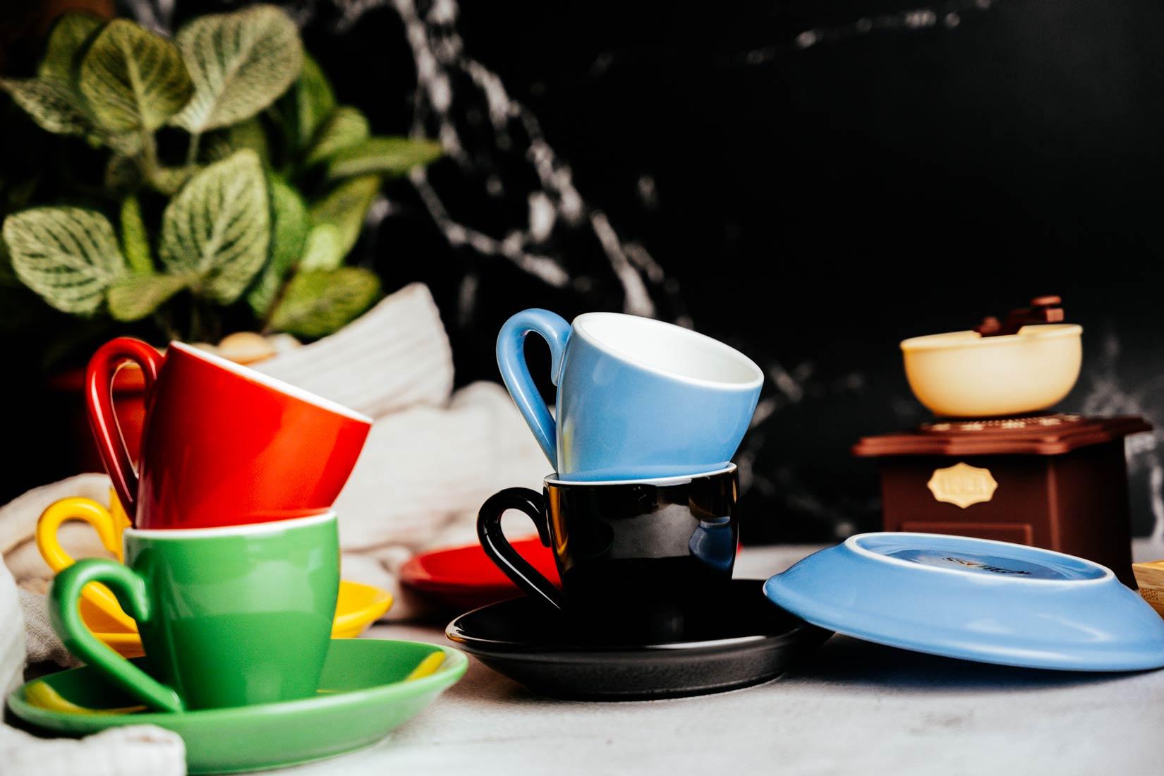 สีแก้วกาแฟกระทบกับรสชาติกาแฟ