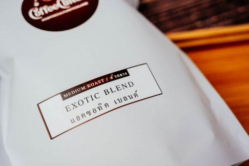 Exotic Blend Coffee - Thai Ethiopian Coffee Blend By Coffee Culture Thailand